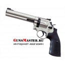 Пневматический револьвер Smith and Wesson 686-6 никель